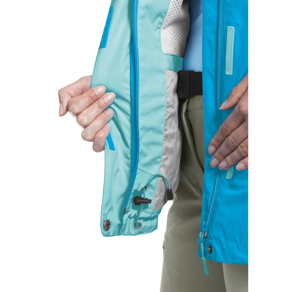Maier Sports Funktionsjacke »Metor W«, mit Packaway Funktion