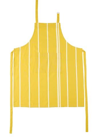 stuco Kochschürze »Streifen«, (1 tlg.), mit Tasche und jacquardartiger Streifenwebung kaufen