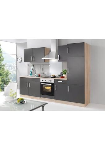 HELD MÖBEL Küchenzeile »Toronto«, mit E - Geräten, Breite 270 cm kaufen