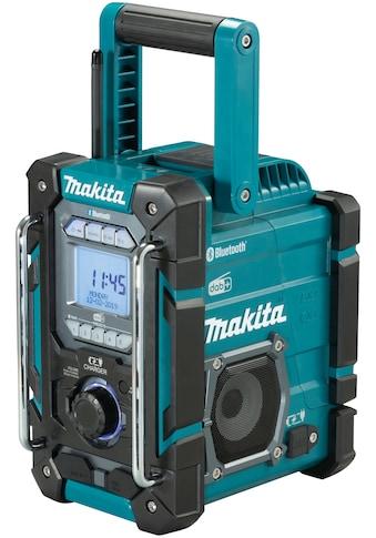 Makita Baustellenradio »DMR301«, (Digitalradio (DAB+)-AM-Tuner-FM-Tuner), ohne Akku... kaufen