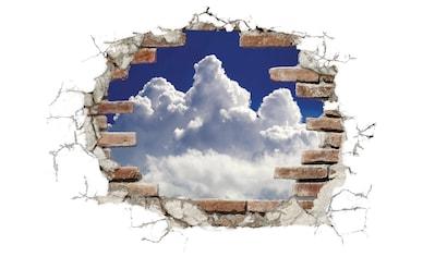 Komar Wandtattoo »Break Out Clouds«, selbstklebend, rückstandslos abziehbar kaufen