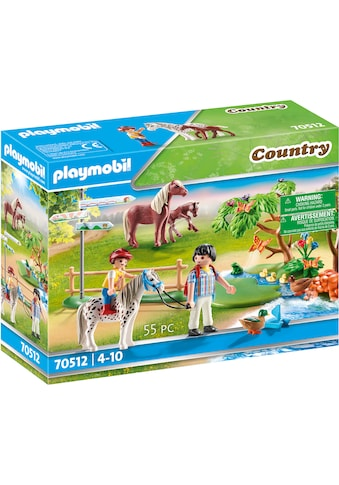 Playmobil® Konstruktions-Spielset »Fröhlicher Ponyausflug (70512), Country«, (55 St.),... kaufen