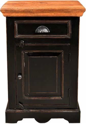 SIT Nachtkommode »Corsica«, Breite 50 cm, Shabby Chic, Vintage kaufen