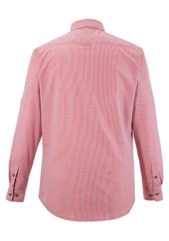 Spieth & Wensky Trachtenhemd mit Krempelärmel kaufen