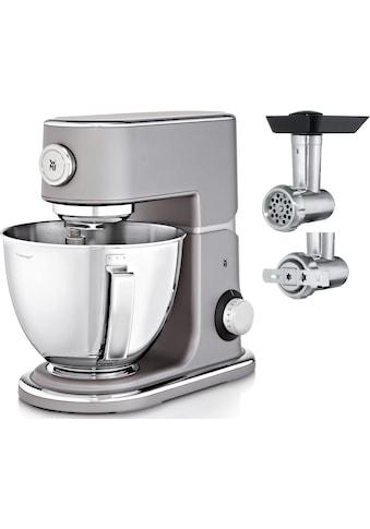 WMF Küchenmaschine Profi Plus, steel grey, 1000 Watt, Schüssel 5 Liter kaufen