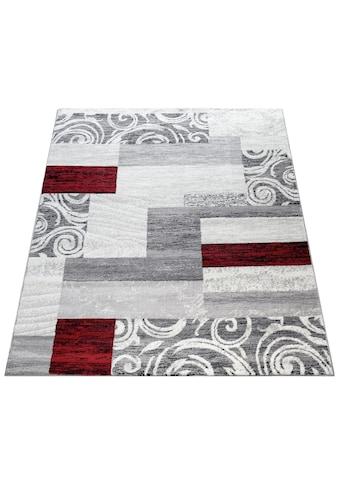Paco Home Teppich »Sinai 053«, rechteckig, 9 mm Höhe, karierter Kurzflor mit... kaufen