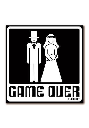 LOGOSHIRT Magnet mit witzigem Motiv »Game Over« kaufen
