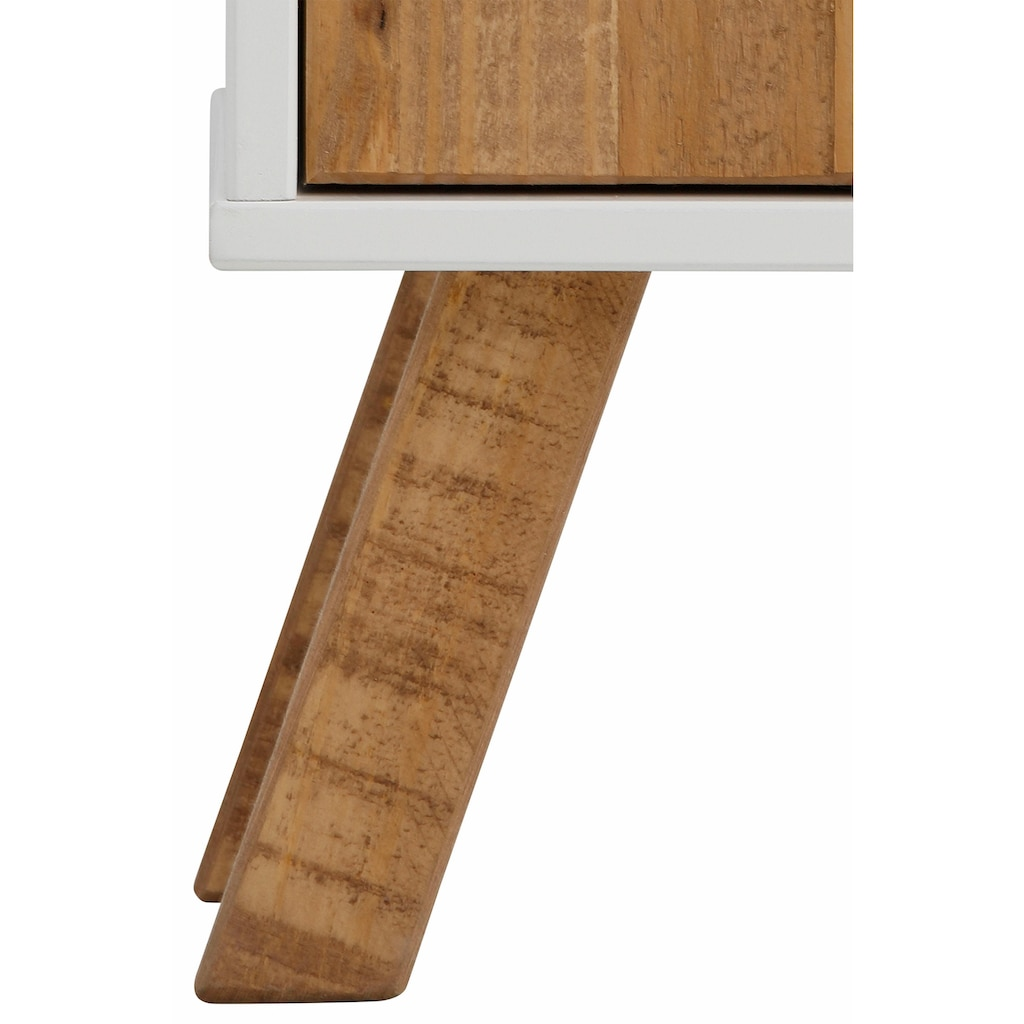 Home affaire Schuhschrank, Rondo», Breite 100 cm, mit 1 Schubalde, 1 Tür und 2 Schuhklappen