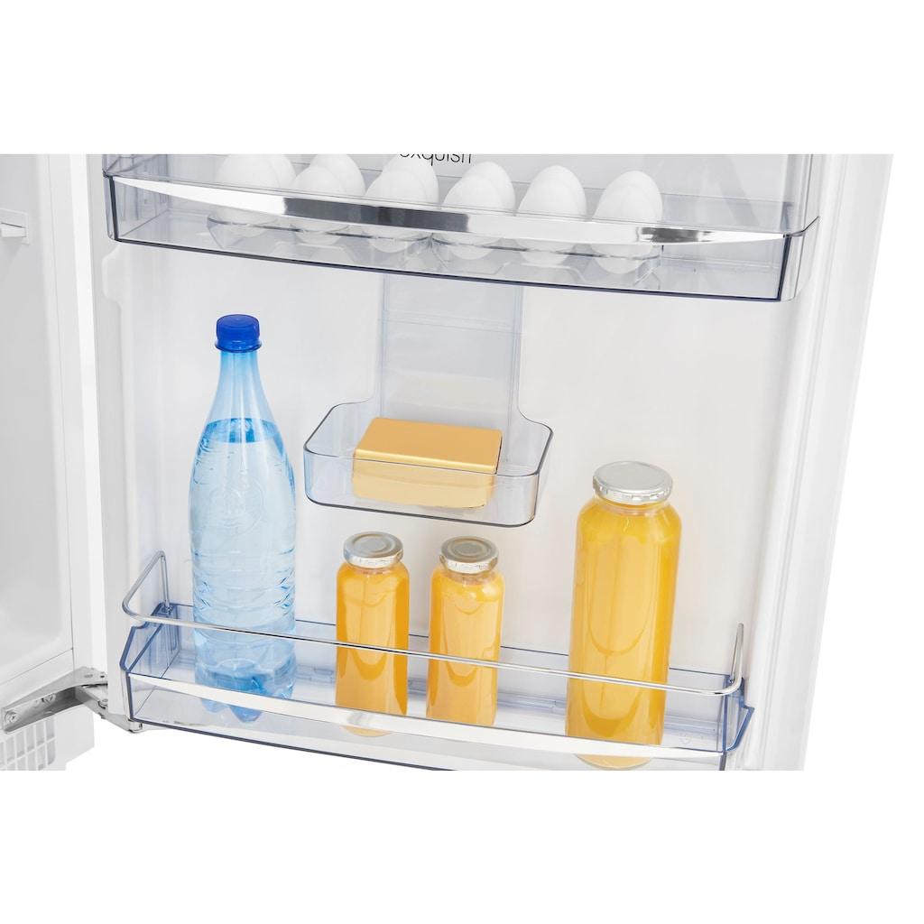exquisit Einbaukühlschrank »UKS 140-1 RVA++«