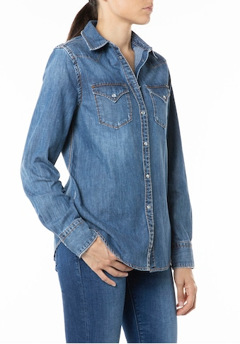 Replay Jeansbluse, mit Used-Effekt kaufen