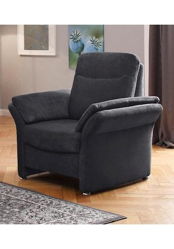 DELAVITA Sessel »Tahoma«, Federkern-Polsterung, in 3 Bezugsqualitäten kaufen