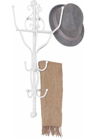 Home affaire Garderobe, halbrund weiß 70 cm kaufen