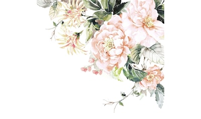 Komar Fototapete »Vliestapete Nasrin«, bedruckt-geblümt-floral-realistisch, 300 x 280 cm kaufen