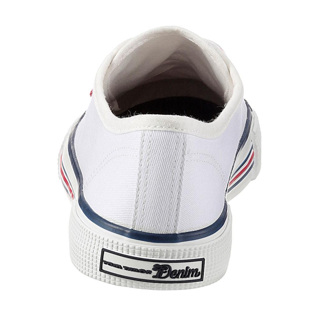 TOM TAILOR Sneaker, mit Logo-Hangtag