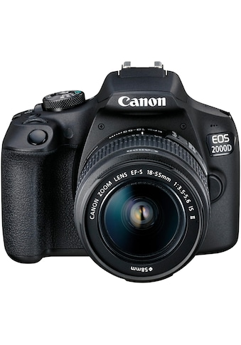 Canon Spiegelreflexkamera »EOS 2000D EF-S 18-55 IS II Value Up Kit«, EF-S 18-55 IS II,... kaufen