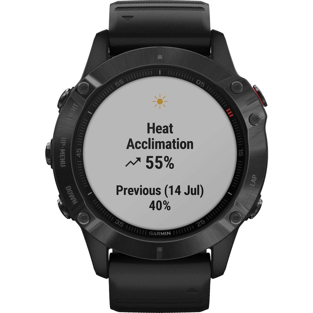 Garmin Smartwatch »FENIX 6 – Pro«,