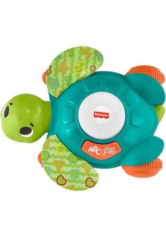 Fisher-Price® Lernspielzeug »BlinkiLinkis Meeresschildkröte«, mit Licht- und Soundfunktion kaufen