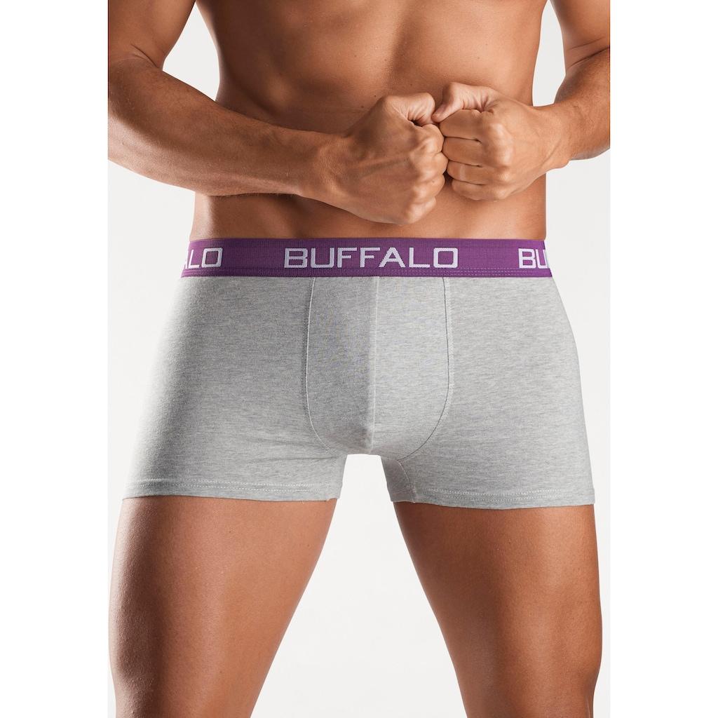 Buffalo Boxer, unifarbene Retro Pants
