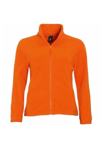 SOLS Fleecejacke »Damen North Fleece-Jacke mit durchgehendem Reißverschluss« kaufen