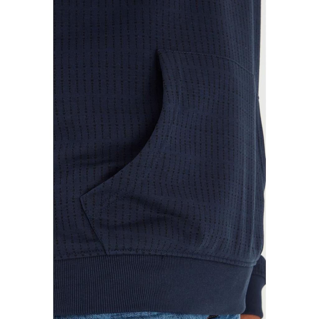 Blend Hoodie »Blend Kapuzenpullover mit Allover Print«, Sweat Pullover mit Kapuze