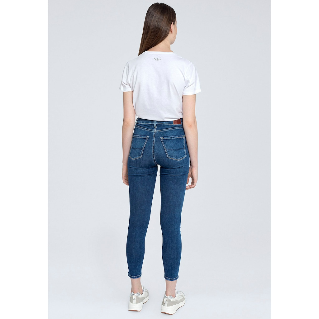 Pepe Jeans Slim-fit-Jeans »DION«, mit hohem Bund und Stretch-Anteil