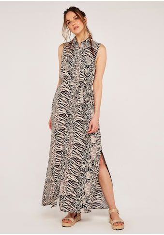 Apricot Maxikleid »Apricot Mix Animal Shirt Maxi Dress«, (mit Bindegürtel), mit... kaufen