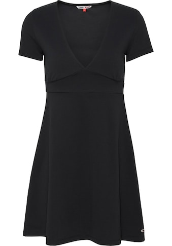 TOMMY JEANS Jerseykleid »TJW ESSENTIAL FITFLARE DRESS« kaufen
