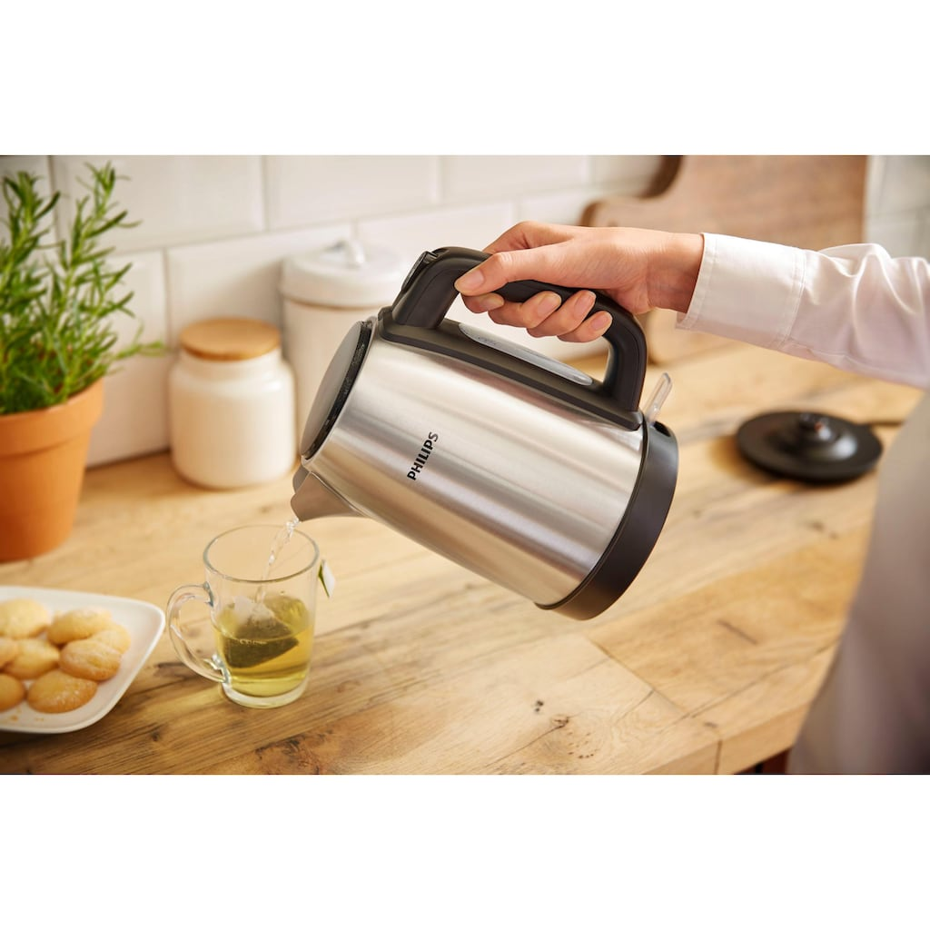 Philips Wasserkocher »HD9350/90 Daily Collection«, 1,7 l, 2200 W, Edelstahl