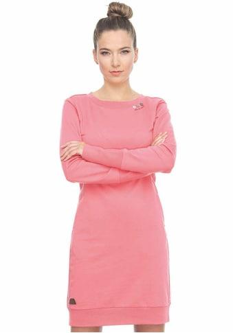 Ragwear Shirtkleid »MENITA«, mit veganer 3 Knopf-Applikation kaufen