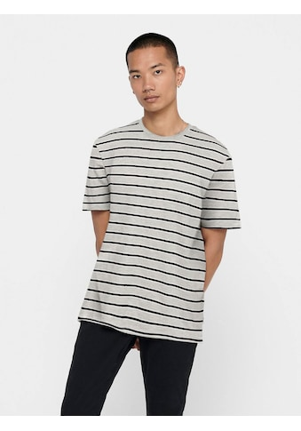 ONLY & SONS T-Shirt »MEL LIFE STRIPE TEE« kaufen