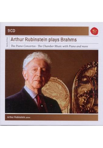 Musik-CD »RUBINSTEIN PLAYS BRAHMS-SONY CLASSICAL MASTERS / Rubinstein,Artur« kaufen