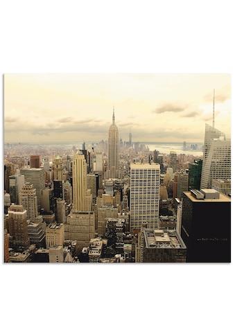 Artland Küchenrückwand »Skyline Manhattan - New York« kaufen