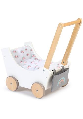 MUSTERKIND® Puppenwagen »Barlia, weiß/natur« kaufen