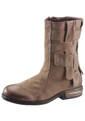 A.S.98 Stiefel »TEAL«, mit modischen Durchzügen kaufen