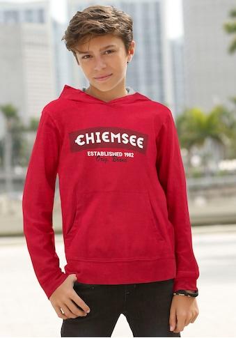 Chiemsee Kapuzenshirt »mit Logodruck« kaufen