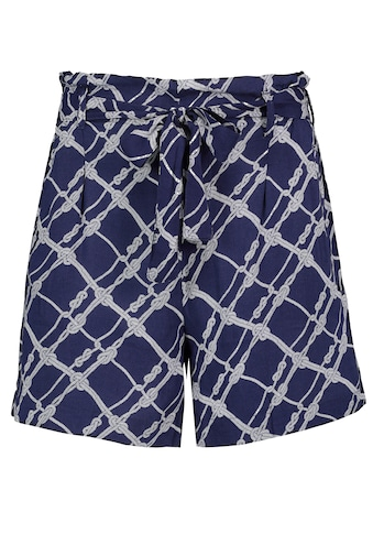 Fresh Made Shorts, mit Gürtel und Musterprint kaufen