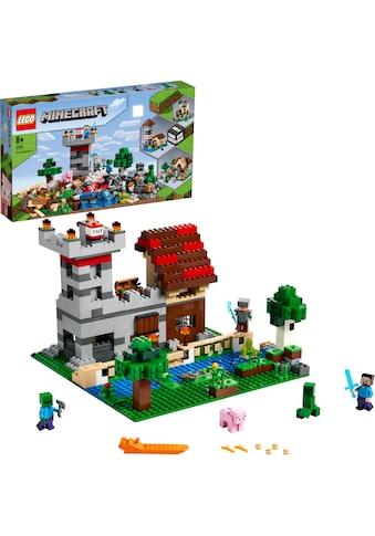 LEGO® Konstruktionsspielsteine »Die Crafting-Box 3.0 (21161), LEGO® Minecraft™«, (564... kaufen