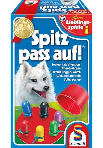 Schmidt Spiele Spiel »Meine Lieblingsspiele, Spitz pass auf!«, Made in Germany kaufen