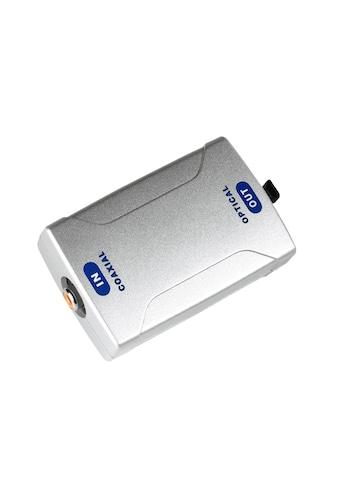 Hama Adapter »Digital-Converter«, Digital-Konverter, Koax IN/Optical OUT ODT (Toslink) kaufen