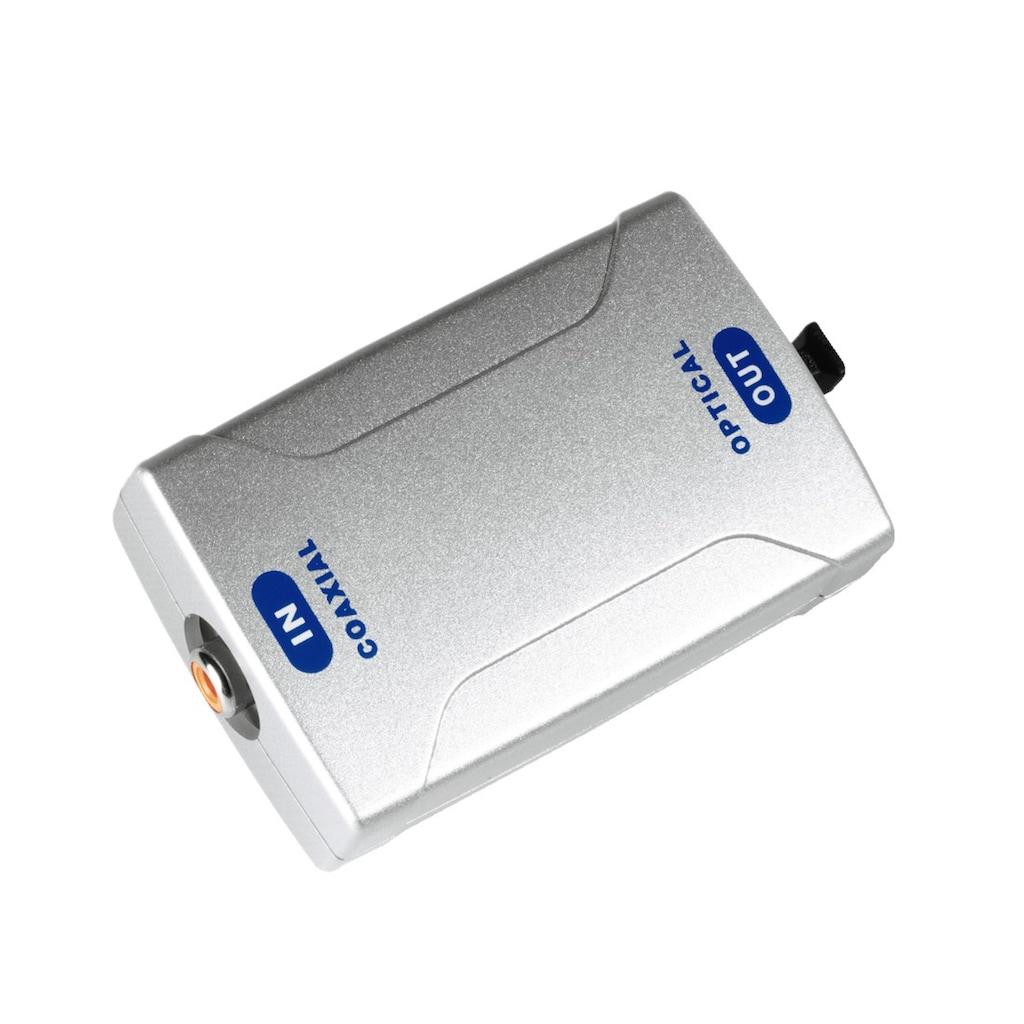 Hama Digital-Konverter, Koax IN/Optical OUT ODT (Toslink)