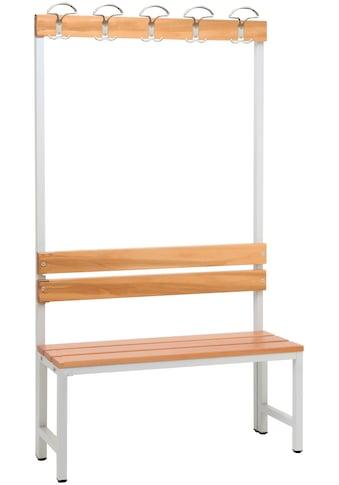 SZAGATO Sitzbank inkl. Garderobenhaken kaufen