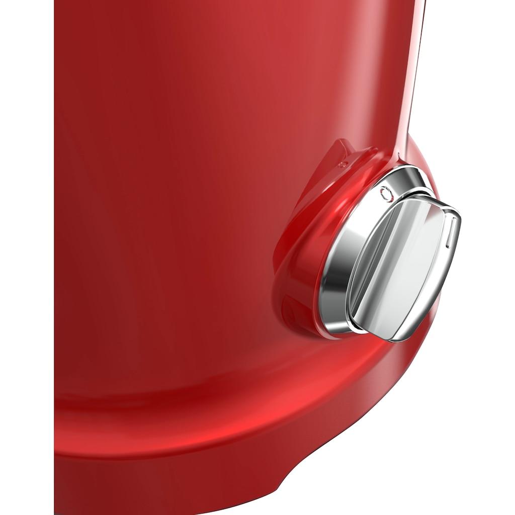 NOVIS Entsafter »VitaJuicer S1 rot«, 240 W
