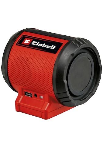 Einhell Bluetooth-Lautsprecher »TC-SR 18 Li BT - Solo« kaufen