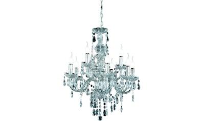 TRIO Leuchten Kronleuchter »KRONE«, E14, Hängeleuchte, Pendellampe, Pendelleuchte kaufen