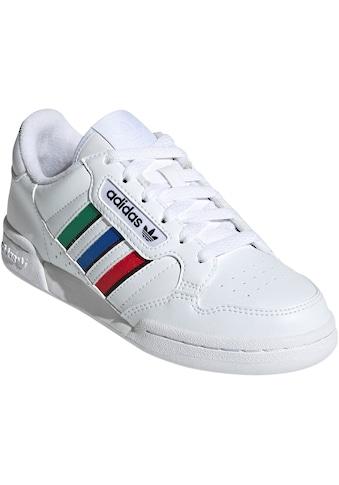 adidas Originals Sneaker »CONTINENTAL 80 STRIPES ORIGINALS JUNIOR REGULAR UNISEX« kaufen