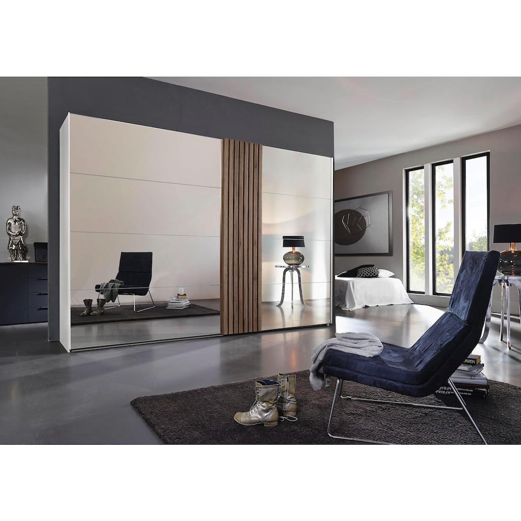 rauch BLACK Schwebetürenschrank »Tegio«, mit Holzdekoraufleistung