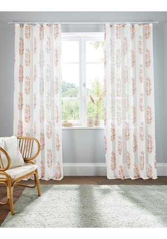 Home affaire Gardine »Terni«, Vorhang, Fertiggardine, transparent kaufen