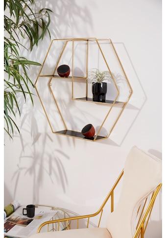 "Leonique Wandregal ""Hexagon"" kaufen"