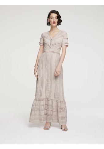 Abendkleid mit Volant kaufen