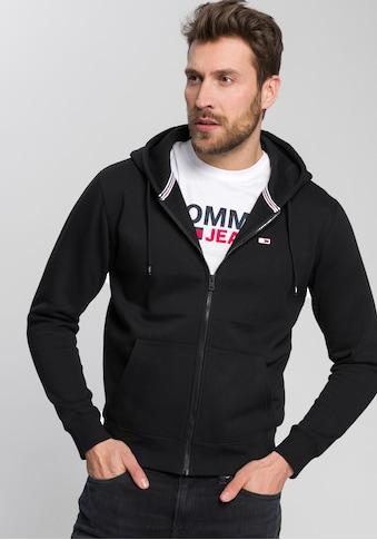 Tommy Jeans Kapuzensweatjacke »TJM REGULAR FLEECE ZIP HOODIE« kaufen